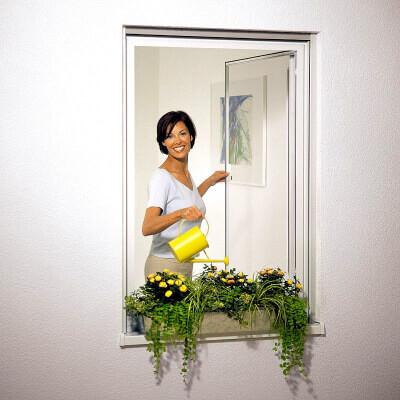 Insektenschutz Drehrahmen Fenster