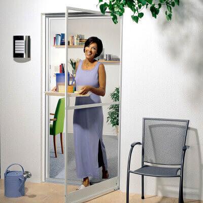 Insektenschutz Drehrahmen Türen