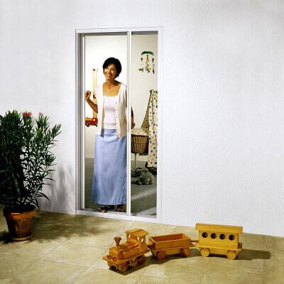 Insektenschutz Rollo für Türen
