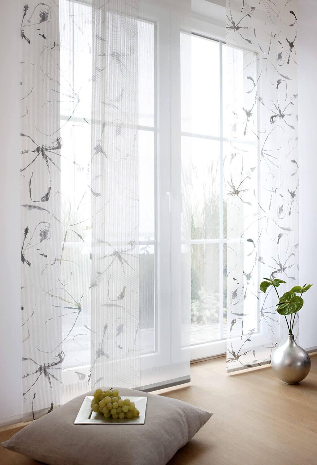 Finest Gardinen With Welche Gardinen Fr Breite Fenster