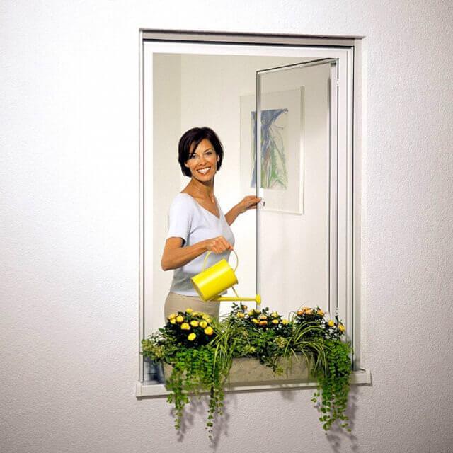 Insektenschutz für Drehrahmenfenster