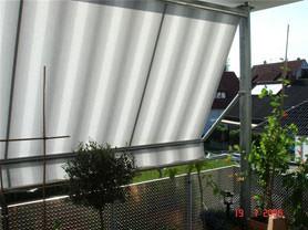 PURO F Klemm – die Klemmmarkise für Balkone