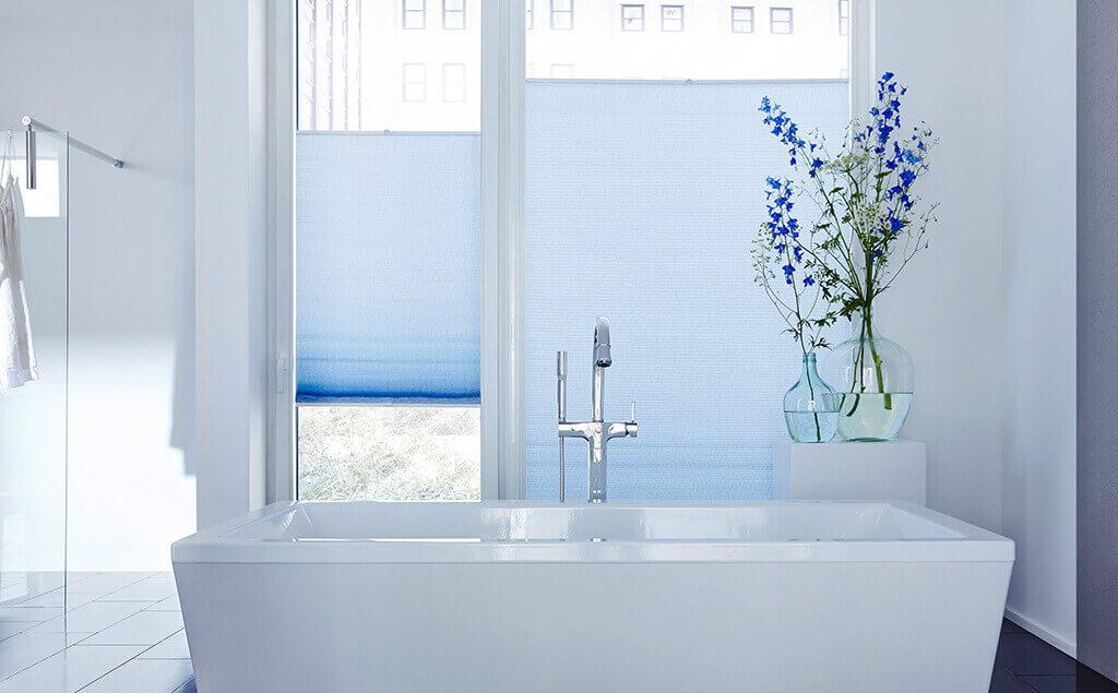 dekorativer sicht- und lichtschutz fürs badezimmer, Badezimmer gestaltung