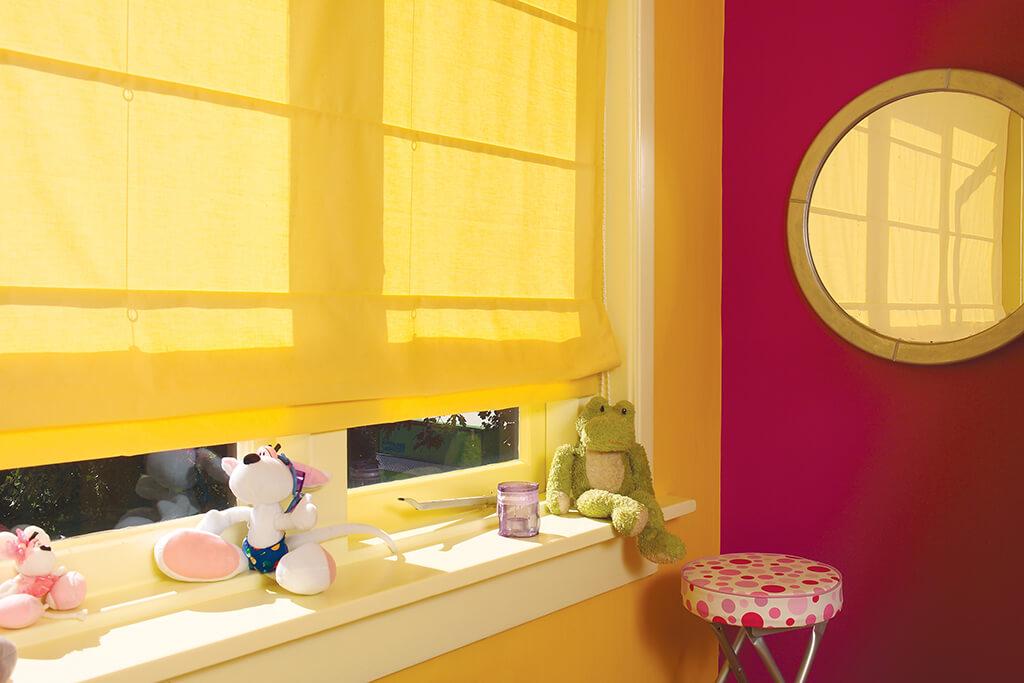 Faltrollo Gelb Detail 03