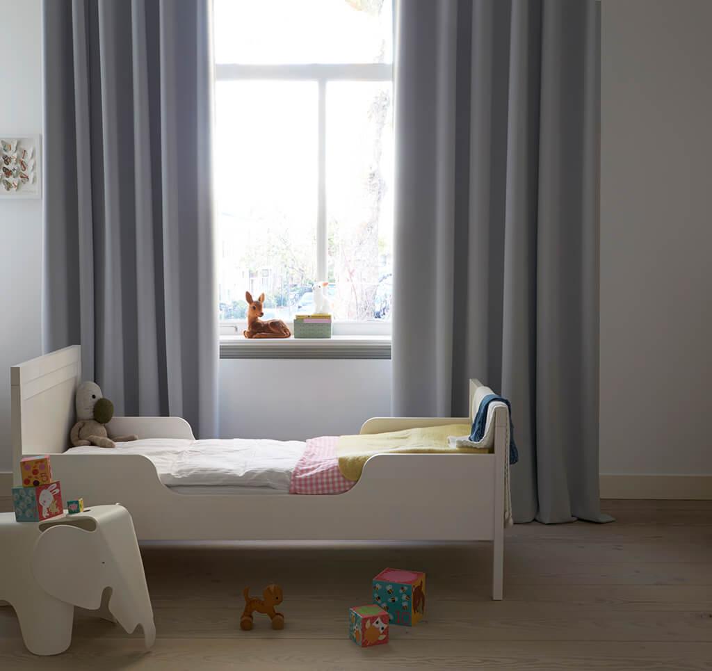 Vorhang Grau Kinderzimmer 02