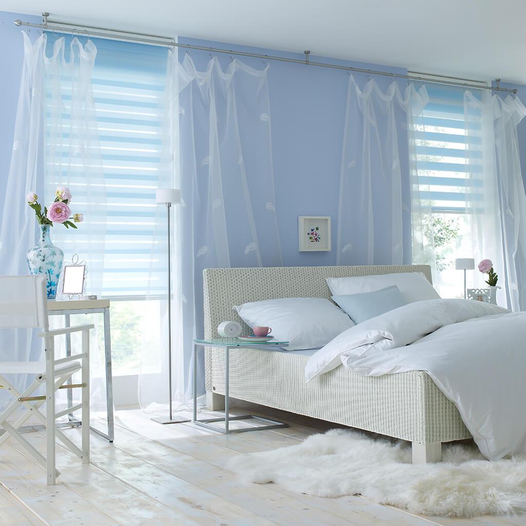 jaloucity: stilvoller sichtschutz im schlafzimmer, Schlafzimmer entwurf