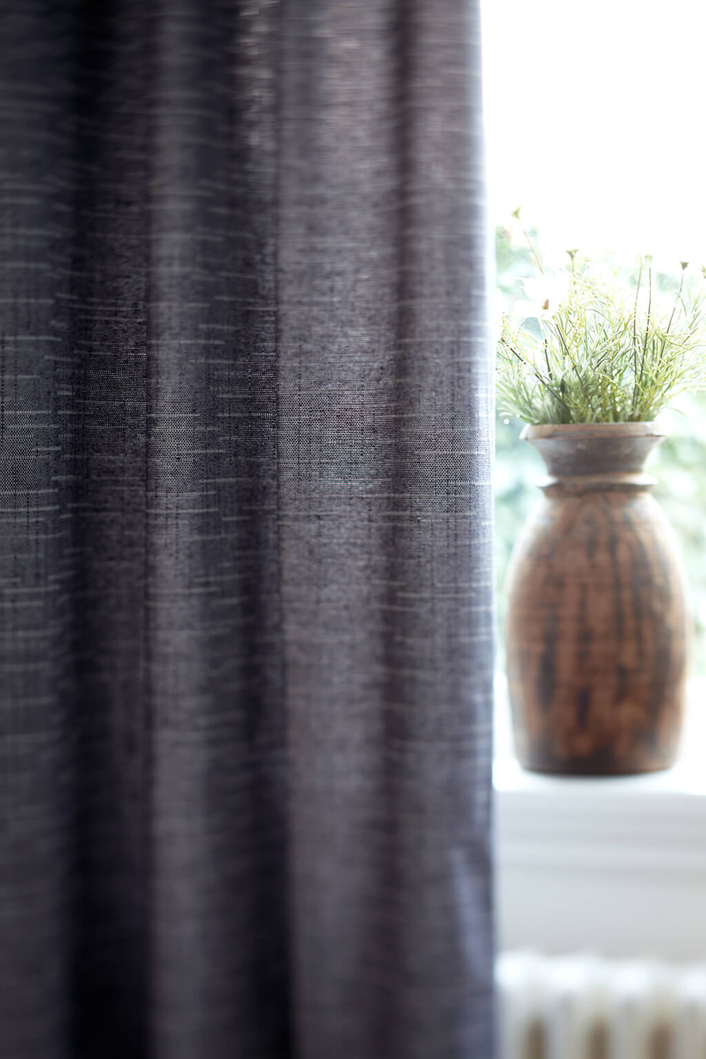 Vorhang Vintage Grau 01 Detail 01