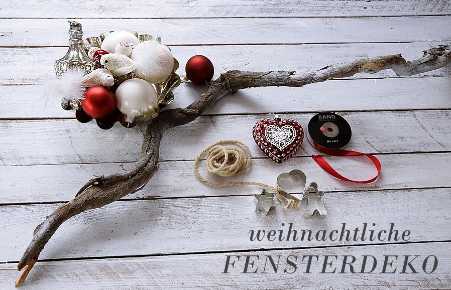 Materialien für DIY Weihnachtsdeko