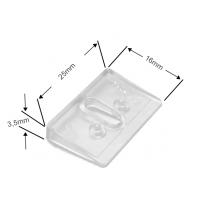 Ausgleichskeil 11° in transparent für Luxaflex Plissees adaptierbar (– 44°)