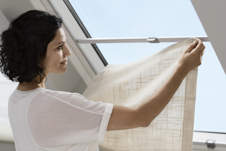 Velux Dachfenster Raffrollo Wechselstoff