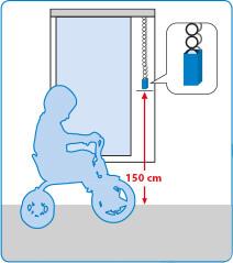 JalouCity Kindersicherheit bei Kettenbedienung