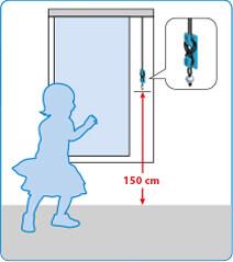 JalouCity Kindersicherheit bei Schnurbedienung