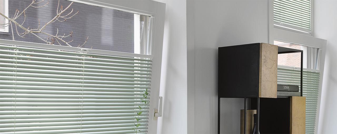 Luxaflex Jalousien ohne Schnüre zum einfachen Bedienen