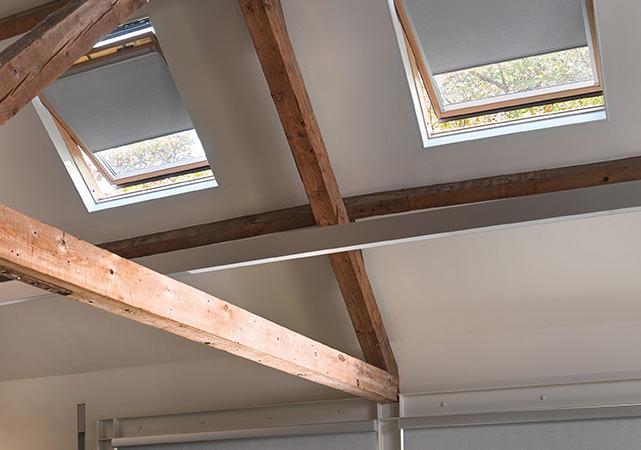 Luxaflex Rollos für Dachfenster