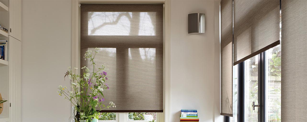 Luxaflex Rollos für verschiedene Größen und Fensterfronten