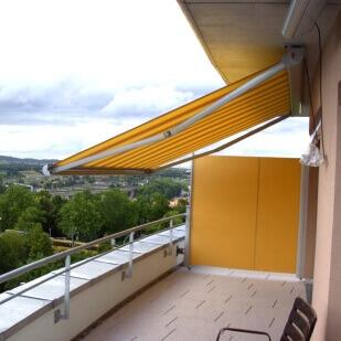 markisen sonnenschutz f r den balkon online kaufen. Black Bedroom Furniture Sets. Home Design Ideas