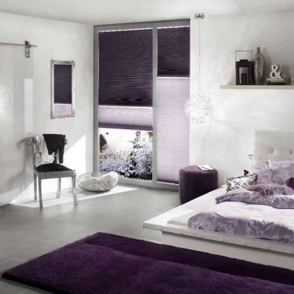 plissees sicht und sonnenschutz f r ihr zuhause. Black Bedroom Furniture Sets. Home Design Ideas