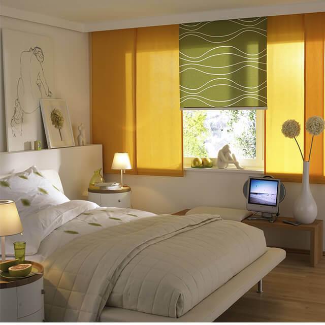 fl chenvorh nge zum schieben moderne raumteiler. Black Bedroom Furniture Sets. Home Design Ideas