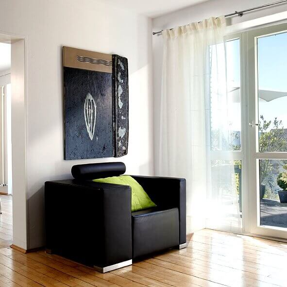vorhangschienen verschiedene designs f r fenster und als raumteiler. Black Bedroom Furniture Sets. Home Design Ideas