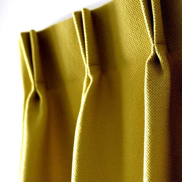 gardine mit doppelter falte perfekter faltenwurf. Black Bedroom Furniture Sets. Home Design Ideas