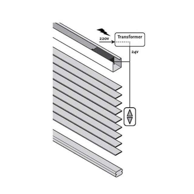 elektrische jalousien mit motor f r innen und au en. Black Bedroom Furniture Sets. Home Design Ideas