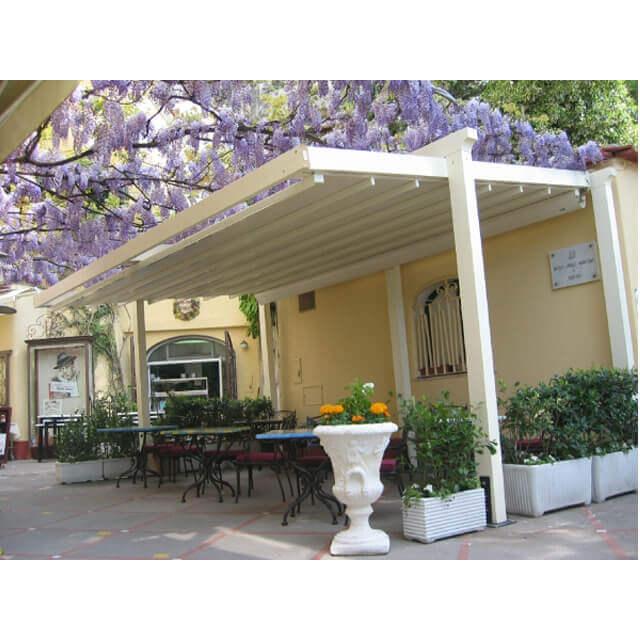 Wintergartenbeschattung Pergola Sunrain für Ihre Terrasse