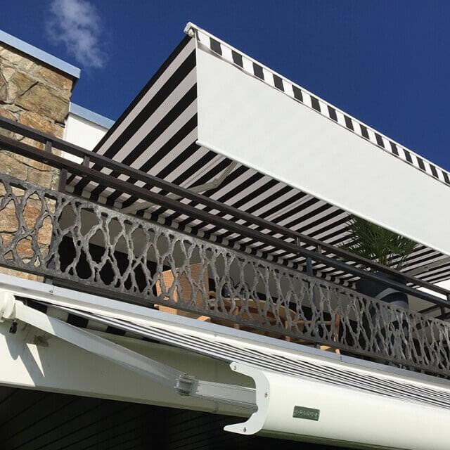 gelenkarmmarkisen f r balkon terrasse g nstig kaufen. Black Bedroom Furniture Sets. Home Design Ideas