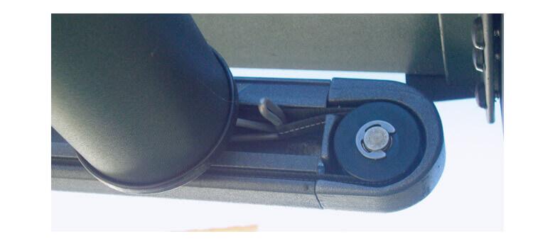 Detailansicht der Unterglasmarkise UG 100
