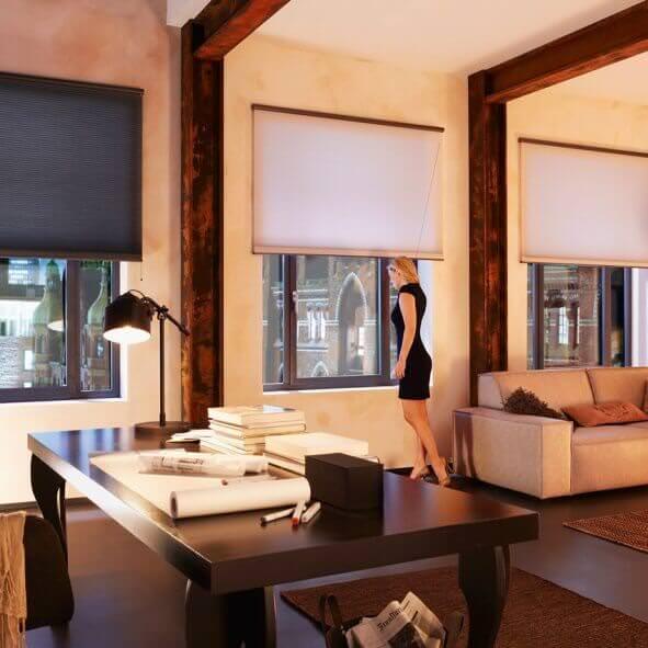 plissee duette doupli wabenplissee von jaloucity. Black Bedroom Furniture Sets. Home Design Ideas