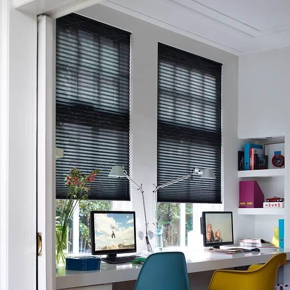 plissee f1 freih ngend plissee mit schnurzug. Black Bedroom Furniture Sets. Home Design Ideas