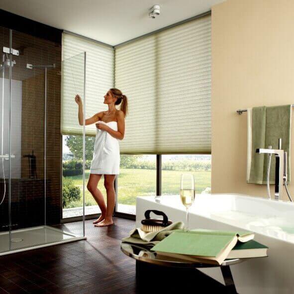 SmartCord®-Zugsystem praktisch für Fenster im Badezimmer