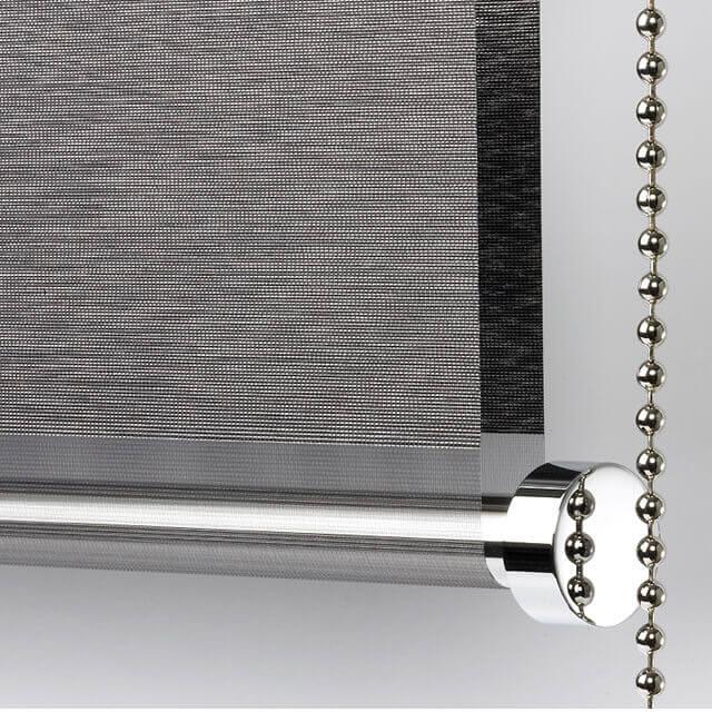 DuoRoll Doppelrollo Detail Unterschiene mit Kette