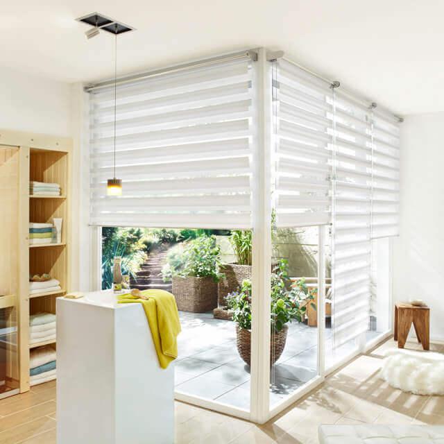DuoRoll Doppelrollos - Licht- und Sichtschutz für den Wohnbereich