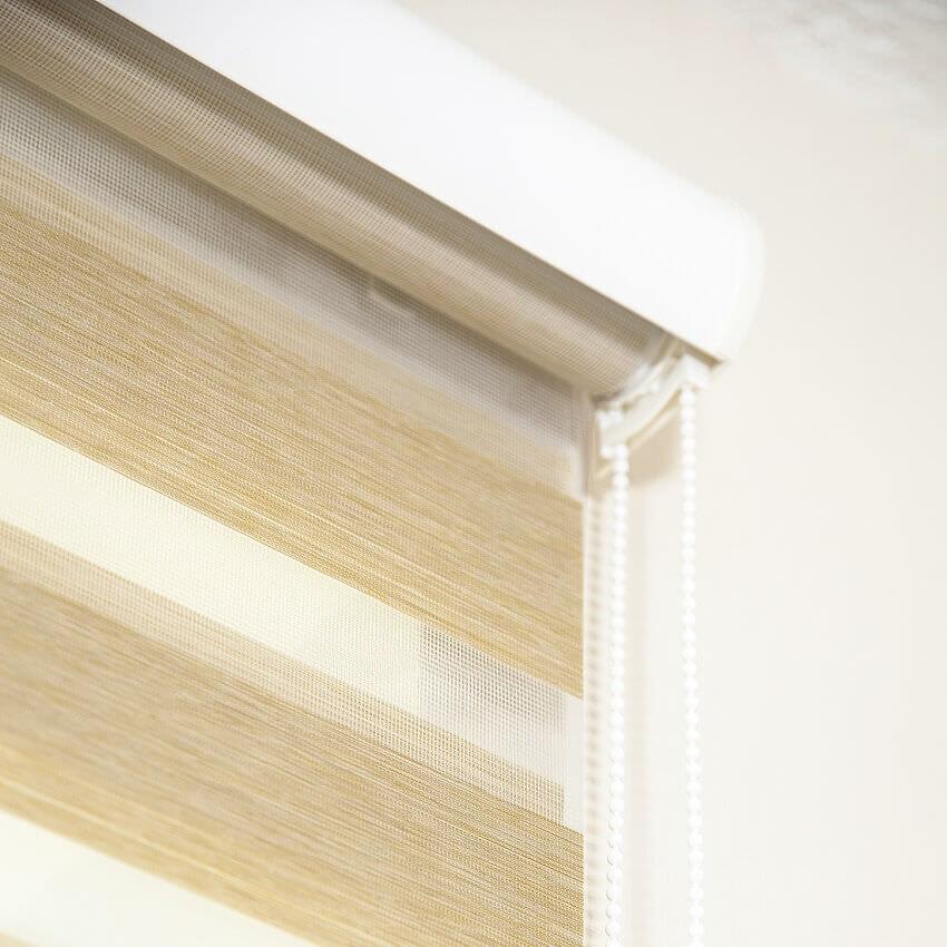 Sunstrip Doppelrollo von JalouCity - das Streifenrollo für mehr Farben