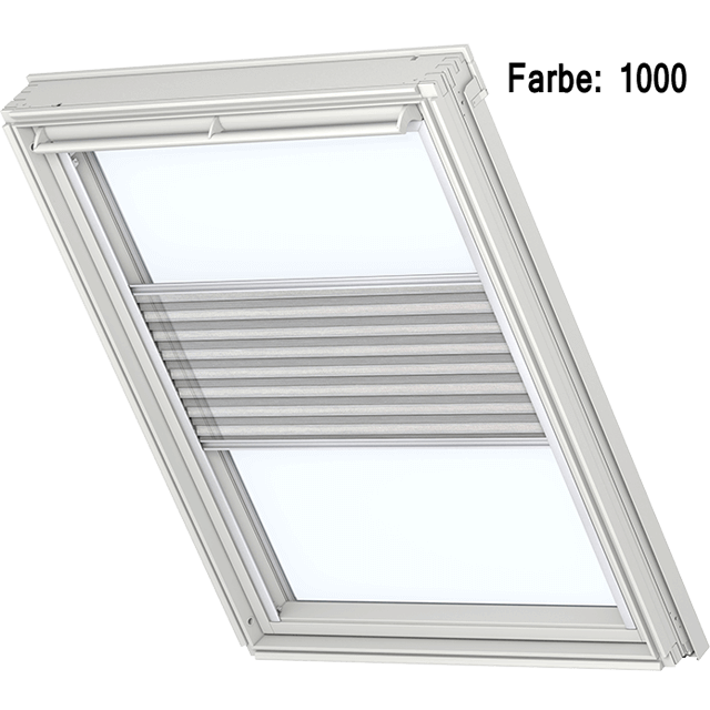 velux plissee sonnenschutz verdunkelung f r dachgeschossfenster. Black Bedroom Furniture Sets. Home Design Ideas