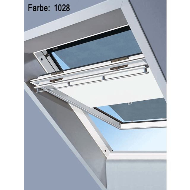 Velux Vorteils-Sets - Markise & Sichtschutzrollo Farbe: 1028 weiß