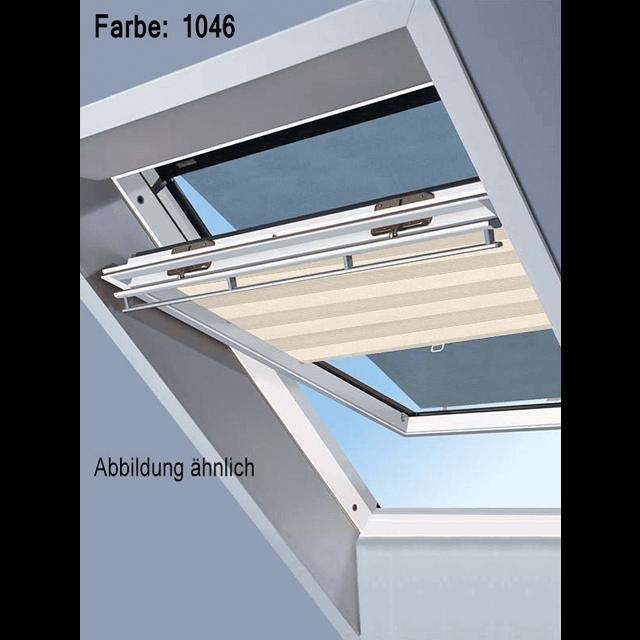 Velux Vorteils-Sets - Markise & Faltstore DuoLine Farbe: 1046 beige