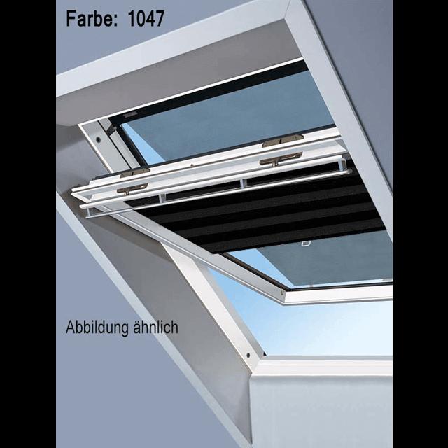 Velux Vorteils-Sets - Markise & Faltstore DuoLine Farbe: 1047 schwarz