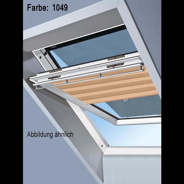 Velux Vorteils-Sets - Markise & Faltstore DuoLine Farbe: 1049 beige