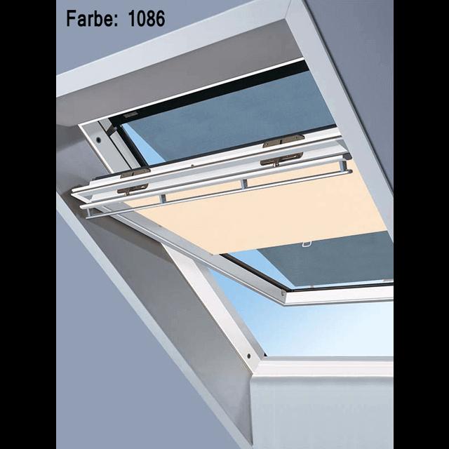 Velux Vorteils-Sets - Markise & Sichtschutzrollo Farbe: 1086 beige