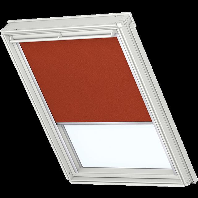 Velux Verdunkelungsrollo Farbe 1355 braun-orange