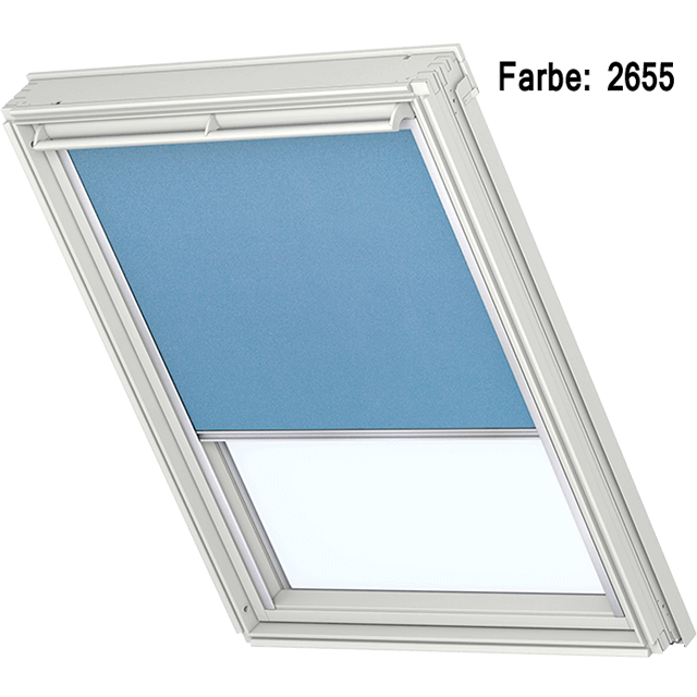 Velux Verdunkelungsrollo Farbe 2655 himmelblau