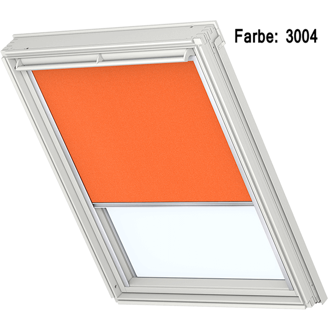 Velux Verdunkelungsrollo Farbe 3004 orange