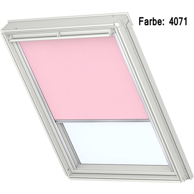 Velux Sichtschutzrollo mit seitlichen Führungsschienen Farbe: 4071