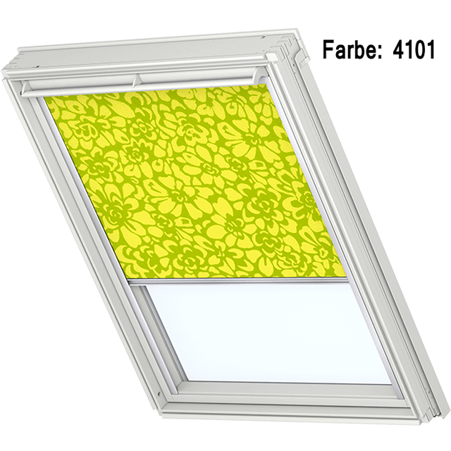 Velux Sichtschutzrollo mit seitlichen Führungsschienen Farbe: 4101