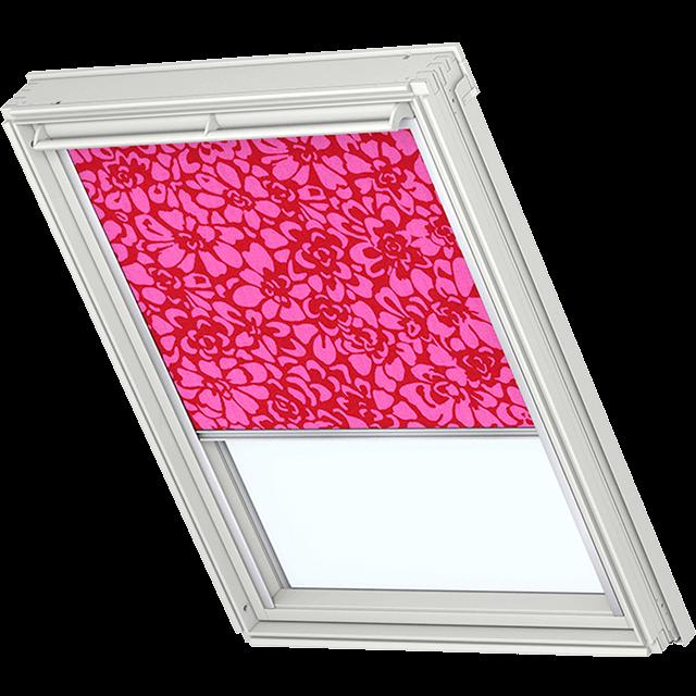 Velux Sichtschutzrollo mit seitlichen Führungsschienen Farbe: 4102