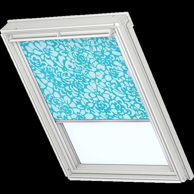 Velux Sichtschutzrollo mit seitlichen Führungsschienen Farbe: 4103