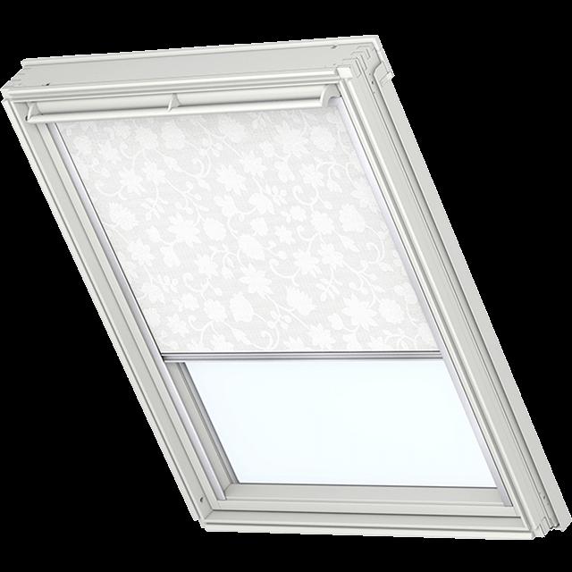 Velux Sichtschutzrollo mit seitlichen Führungsschienen Farbe: 4120