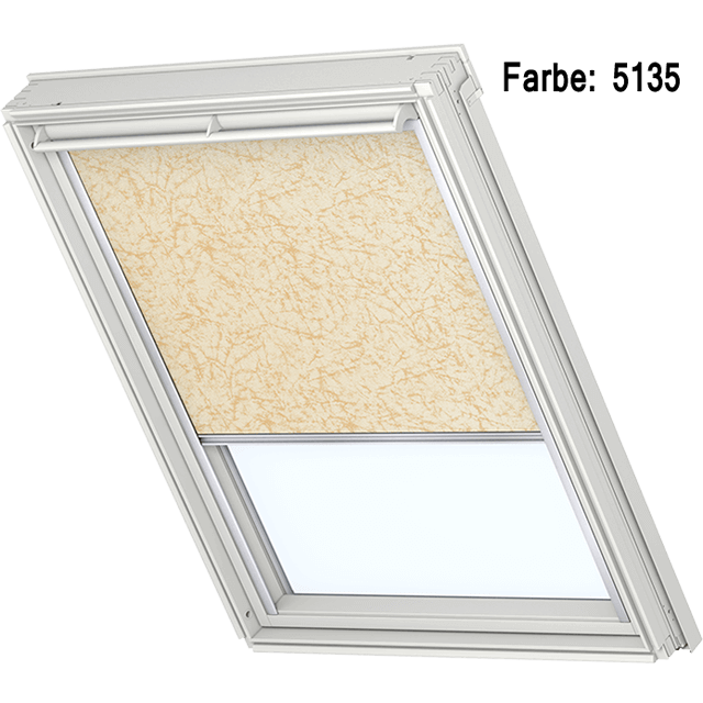 Velux Verdunkelungsrollo Farbe 5135 Muster beige