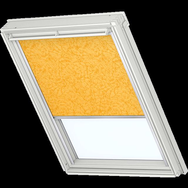 Velux Verdunkelungsrollo Farbe 5145 Muster gelb